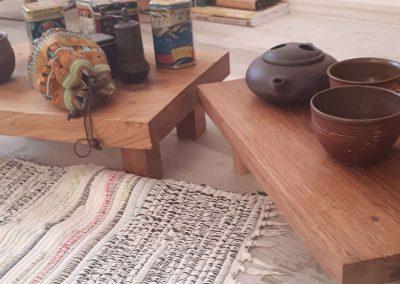 čajové stolky